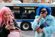 What they're wearing / My favourite street style snaps from across the globe