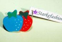 Sweet and loving de Starkefashion / Este verano Starkefashion os propone una colección repleta de colores en la que las frutas y los corazones son los protagonistas, para que volváis a sacar a la niña que lleváis dentro, porque el verano es tiempo de alegría, de juego y de diversión.