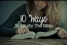 Bible Study / Journal  Ideas