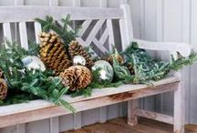 Winter porch and outdoor decor / If you're looking for great ideas for your patio during the winter we've found some great ideas for you.