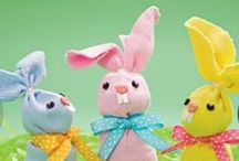 Easter Crafts / Beautiful handmade things for kids to make! / by Kath Chown