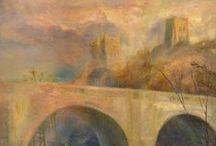 Kate Van Suddese / Kate Van Suddese is a Seascape/Landscape Artist based in Durham City. Kate has exhibited her luminous and distinctive work nationally for over 25 years with many pieces held in private collections in the UK and abroad.