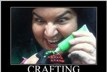 Crafts and craft ideas / crafts, DIY, things to make, stuff that clears your head because you create!