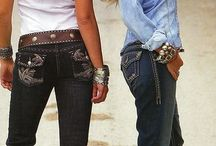 rockin the wranglers / Western wear is fun, fancy, flirtatious, fabulous, formal and friendly.  / by Emily Kiel