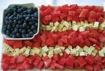 Summer / Red white and blue, summer, summer fun, summer ideas, summer stuff, picnics
