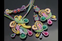 LiAnna Soutache Jewellery  - biżuteria sutasz / www.lianna.blox.pl #sutasz  #soutache  #jewelry #biżuteria #biżuteria ślubna #lianna