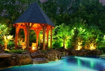 Outdoor lighting ideas / Welcome to landscape lighting ideas for your yard. We have lots of landscape lighting pictures to help you plan for your projects. Make sure you visit Dream Yards other Pinterest boards for some more landscaping ideas and inspiration. Thanks for visiting us.