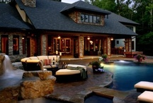 Rich Houses with high end landscaping / The rich and famous have some pretty high end landscaping designs. You may not have the space in your yard, but sometimes you can scale down on some beautiful ideas to create your own version. Thanks for visiting Dream Yard's Pinterest boards.