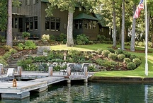 Cottage landscaping, and lakeside landscaping / Welcome to Dream Yard's Pinterest boards. This board is all about landscaping cottages on or near bodies of water. For those of you lucky enough to have such a place, we hope you find some great ideas for your yard. Thanks for visiting our Boards.