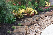 Garden edging ideas / It's tough to find garden edging ideas that are practical and look good, but these are important touches that complete and compliment your landscaping features. We hope you find the ideas you are looking for on our pinterest board, and thanks for stopping by  / by dreamyard