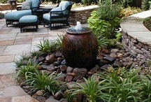 Landscaping fountains and water bubblers / Welcome to landscaping fountains and water bubblers. Don't forget to check out our waterfall ideas in our other boards. We have lots of landscaping categories with great ideas for your yard. Thanks for stopping by Dream Yard's Pinterest boards.  / by dreamyard