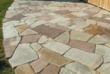Stone patio ideas / Welcome to our Flagstone patio ideas pinterest board. If you are looking for lots of stone patio pictures, you found the right board. Enjoy our other landscaping boards and hopefully you find some great inspiration for your dream yard. Thanks for visiting us. / by dreamyard