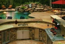 Outdoor kitchen ideas / Welcome to outdoor kitchen ideas. Here you will find a lot more than just a spot for your barbeque. There are lots of inspirational outdoor cooking areas for your home. Thanks for visiting Dream Yards Pinterest boards.  / by dreamyard