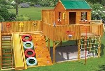 Playground sets, sandbox ideas, kids stuff / Welcome to Dream Yard's Pinterest board for kids. Part of most yards includes a kid's playset area in the design. from wooden playsets to kids swingsets, and sandboxes, we have some pictures to help with your ideas. We hope you can check out some of our other landscaping boards, and thanks for visiting us.