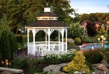 Pictures of gazebos / Welcome to Dream Yard's Pinterest board for gazebo ideas. We have lots of gazebo pictures to inspire you with ideas for your yard. Thanks for visiting us, and don't forget to check out our other boards, and  / by dreamyard