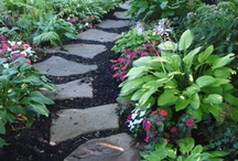 "stone path ideas / Welcome to Dream Yard's Pinterest board of stone path pictures. We hope you get some great garden path ideas for your own yard. If you are looking for more formal walkways, or landscaping paths with other materials, please visit our ""Walkway ideas board"". Thanks for visiting us.  / by dreamyard"