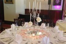 Centerpieces / Simple, elegant centrepieces to add a touch of luxury at your special event