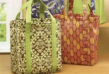 Bag Lady / Bags, totes, patterns, ideas, purses, pocketbooks, grocery bags
