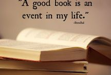 Oh the JOY of reading!  / My love of books and reading!