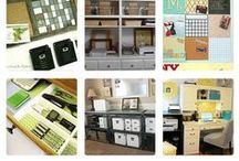 Home office / Work at home, office space, home office, decluttering, home management