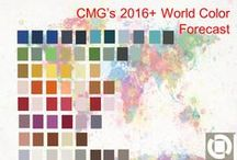 2014 International Summit - CMG Reveals the 2016+ Global Color Forecast / The cornerstone  of CMG is the dynamic exchange of ideas and information between color experts around the world.  CMG's annual International Summit (November 14th - 16th in Orlando FL) offers members and non members the platform to do this.  Here you will see the comparisons of all the ChromaZone Color Forecasting Workshops, AND see the revelation of CMG's 2016+ World Color Forecast, comprising forecasts from North America, Asia, Europe, and Latin America.    Registration required.