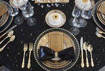 Weddings | Black & Gold