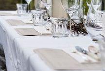 Wedding tables / Mesas boda