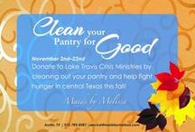 Thanksgiving - Give back / Giving back to the community is important to Maids by Melissa. This November, we will be donating food to a local pantry so families can have a great Thanksgiving.