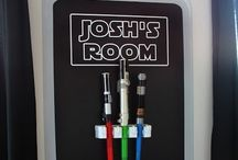 Josh's new bedroom / With his love of Star Wars a  bedroom make over for Christmas is in the making.