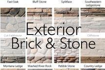 Exterior Brick & Stone
