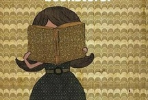 nose in a book. / by Amanda McKee