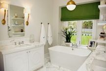 Bathrooms and Powder Rooms / by Sarah Gravely