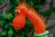 Crochet - horgolás - figurák