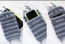 Crochet - horgolás - táska, szütyő