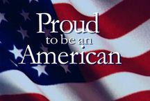 I'M A PROUD AMERICAN / by Sandy Feasby