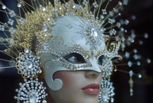 Masks / Crystalcoutureinc.com / by Crystal Couture Inc