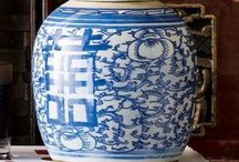Blue and White / blue & white porcelain and blue & white rooms / by Caroline Alexandra