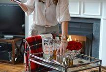 BOOZY Home Bars / Home Bar Set Ups and Bar Carts / by Caroline Alexandra