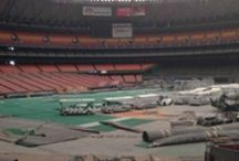 Houston Astrodome  / Behold what has become of the eighth wonder of the world.