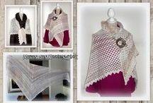 Haken - omslagdoek - crochet / by Lisette de Jager