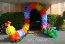 Balloon Ideas / by Jacqueline Stahrr