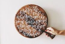 LETTERING / by Marcy Penner