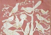 Every Bird and Every Tree / Folk art motifs of birds, beasts, and trees in any medium