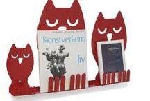 Présentoirs de livres/brochures