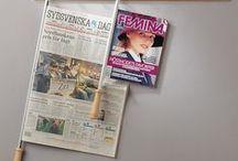 Cannes à journaux