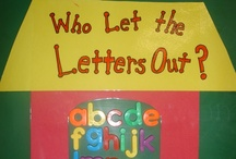Phonics - Letter ID / Fun ideas for teaching phonics (letter id) in the kindergarten classroom.
