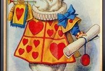Alice in Wonderland / Fun stuff from Alice in Wonderland or things that remind me of Alice in Wonderland.