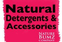 Natural Detergents & Accessories / Everything you will need to launder your cloth diapers, baby clothing, & own laundry! Natural & organic they are gentle to use for almost all your laundering needs. : http://www.naturebumz.com/diapering-accessories/laundry-accessories.html