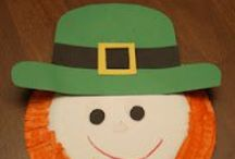 1 March - St. Patrick's Day / St. Patrick's Day, leprechauns, and rainbows crafts, ideas, and activities