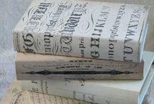 Books Etc / Journals, Memory Books, Altered Books, Notebooks, Binders